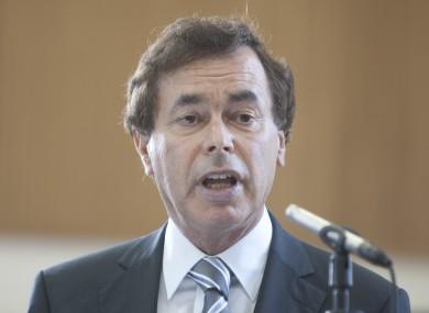 Minister for Justice Alan Shatter