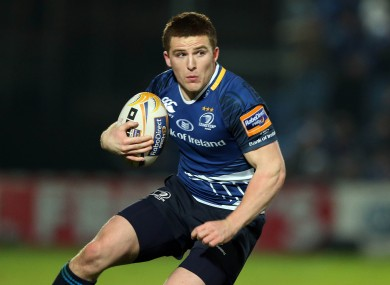 Andrew Conway will start at fullback for Leinster.