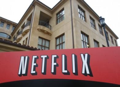 File photo of the Netflix headquarters in Los Gatos, California.