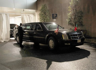 This is why they call Obama's Cadillac 'The Beast ...