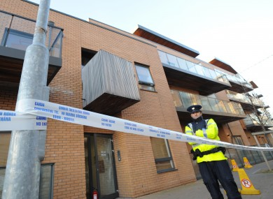 The incident occurred at about 5:30am outside the Herberton Apartments on St Anthony's Road in Rialto, Dublin 8.