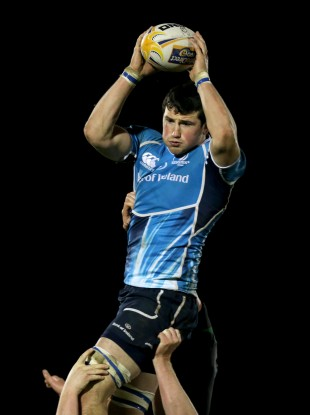 Ben Marshall has played five times for Leinster this season.