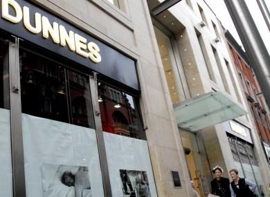 Dunnes Stores on Henry Street, Dublin.