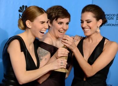 Lena Dunham's face. We love it.
