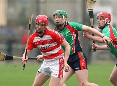 CIT's Lorcan McLoughlin and LIT's Cathal McInerney.