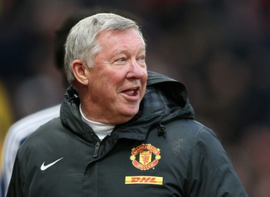 Alex Ferguson: confident.