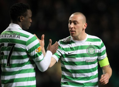 Scott Brown is confident that his team can bounce back after a recent defeat to Hibs.