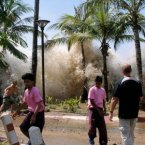 Risk category: Environmental Risk likelihood: 3.17/5 Description: Existing precautions and preparedness measures fail in the face of geophysical disasters of unparalleled magnitude such as earthquakes, volcanic activity, landslides or tsunamis. (Image: Wikimedia Commons)