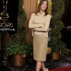 Kathryn Bigelow wore a nude ensemble.  (Chris Pizzello/Invision/AP)