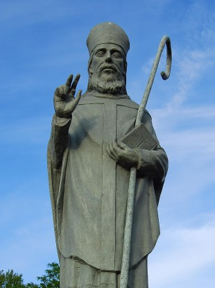 Saint Malachy - the first Irish saint canonised by a pope - supposedly predicted the identities of all 112 popes after his life. Benedict is the 111th.