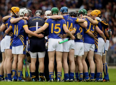Familiar Faces: Tipperary have named a strong team for Saturday night's game.