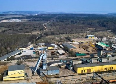 The Rudna copper mine