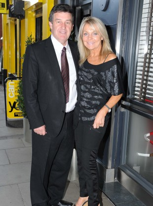 Bill Cullen and Jackie Lavin (file photo)