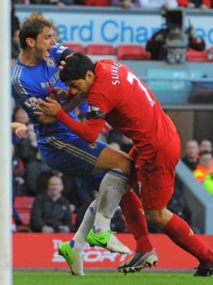 Luis Suarez: in hot water again.