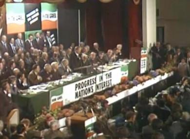 Fine Gael Ard Fheis 1977
