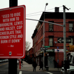 Brooklyn's Lewis Avenue and Halsey Street.