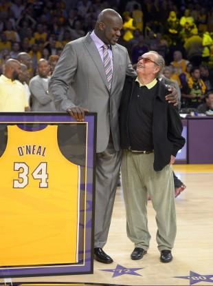 O'Neal with Jack Nicholson.