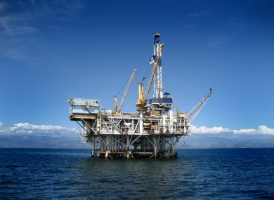 File photo an oil well. Petrel's Quad 45 site is close to an Exxon Mobil site where preliminary drilling is due to begin shortly.