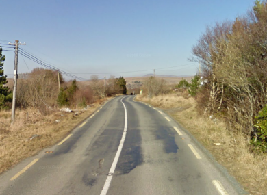 The N56 road in Donegal (File photo)
