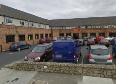 St Dominic's Shopping Centre, Tallaght where the shooting took place.