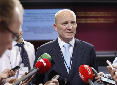 Declan Ganley was last in the public eye a year ago, when he unsuccessfully sought the rejection of the Fiscal Compact treaty.