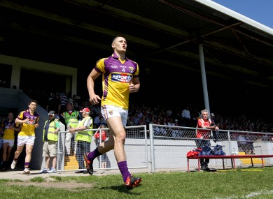 Wexford's Lee Chin.