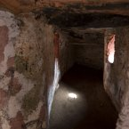 A slave room is seen in The House of Slaves, Goree Island. (AP Photo/Carolyn Kaster)