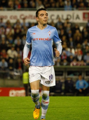 Iago Aspas has joined Liverpool.