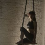 Performer Aisling Ní Cheallaigh.
