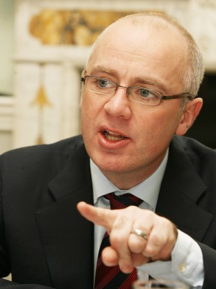Former CEO of defunct Anglo Irish Bank, David Drumm.