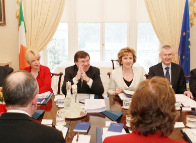Members of the Council of State meeting during President Mary McAleese's second term at the Áras