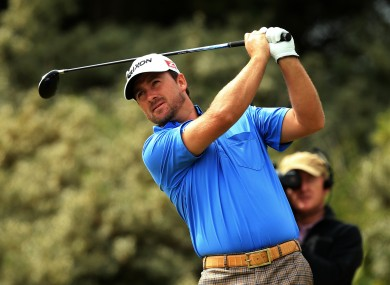 Graeme McDowell finished on +12 at The Open.