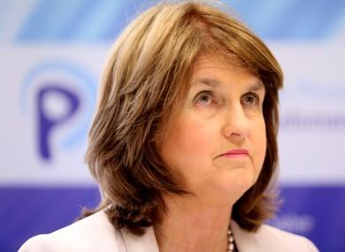 Social Protection Minister Joan Burton