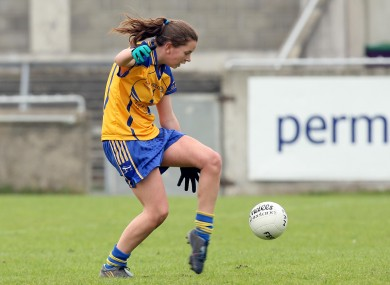 Niamh O'Dea played an integral role in Clare's victory.