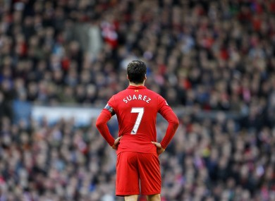 Luis Suarez has been strongly linked with a move to Arsenal recently.