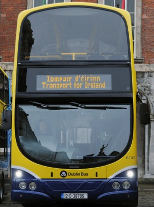 One of the new Dublin Buses