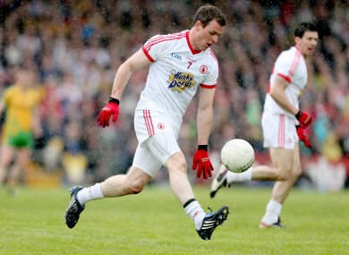 Tyrone's Conor Gormley has a crucial role to play.