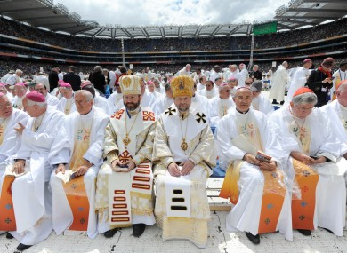 The Eucharistic Congress - a great bunch of lads.