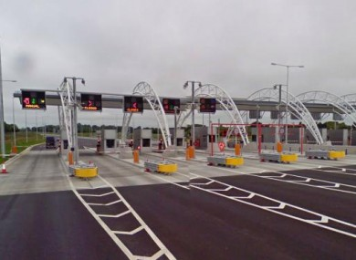 The M3 toll plaza