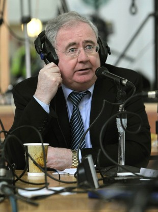 Pat Rabbitte doesn't think cavemen exist in Ireland.