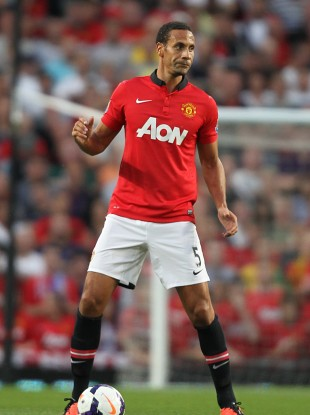 5a7e2d7a986 Big talk  Rio Ferdinand set for another long season with United.