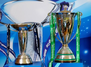 The Heineken and Amlin Cups: will they still be around in 2014?