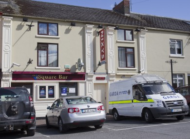 The Square Bar where the man barricaded himself in and was arrested on Friday morning.