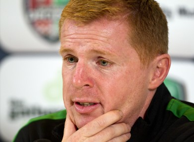 Celtic's manager Neil Lennon believes O'Neill has the credentials to succeed as Ireland manager.