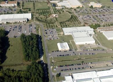The navy base
