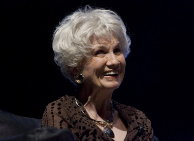 Canadian author Alice Munro, pictured in 2009.