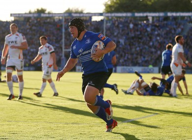 Leinster will be without the hooker for the remainder of the season.