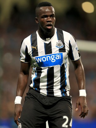 Tiote in action for the Magpies.