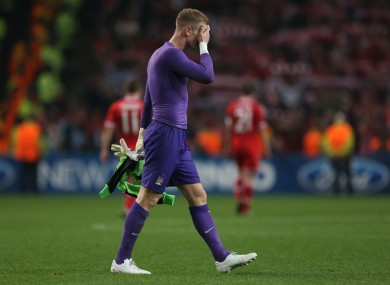 Joe Hart: enduring a bad run of form.