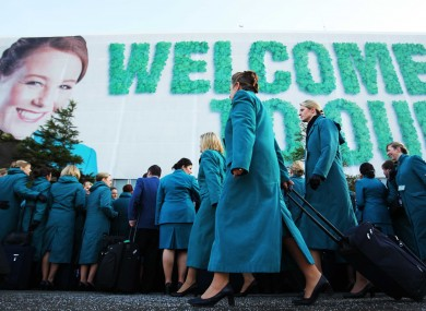 Air Lingus cabin crew